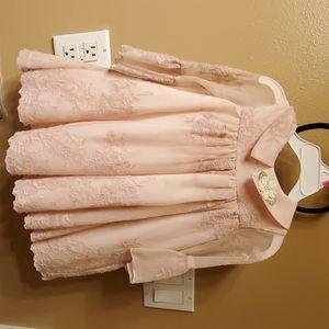 Laura Ashley lace dress 2t